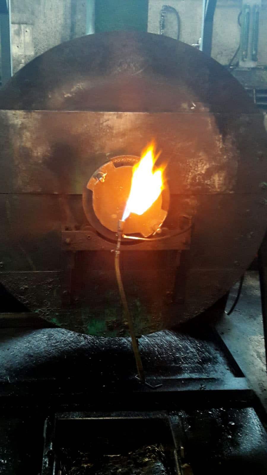 tempra dei metalli